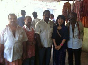 南インドの男たち
