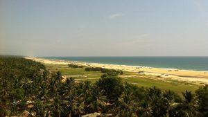 南インドの眺め