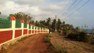 南インドの街