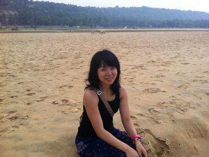 南インド・ケララの海と私