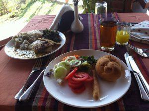 南インド、食事