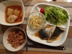 魚料理・イナダ