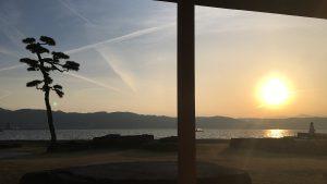 太陽へ 感謝の太陽礼拝