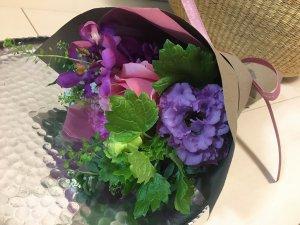 卒業とお花 studio sarada