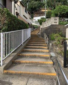 上星川階段ルート