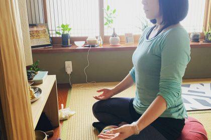 sarada yoshiko瞑想